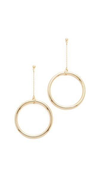 Cloverpost Halo String Earrings