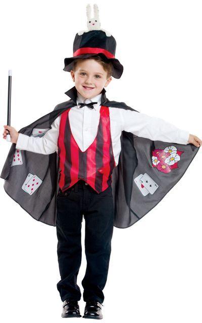 Children/'s Witch Costume Black Hat Cape 2 Black /& White Stripe Ties Fancy Dress