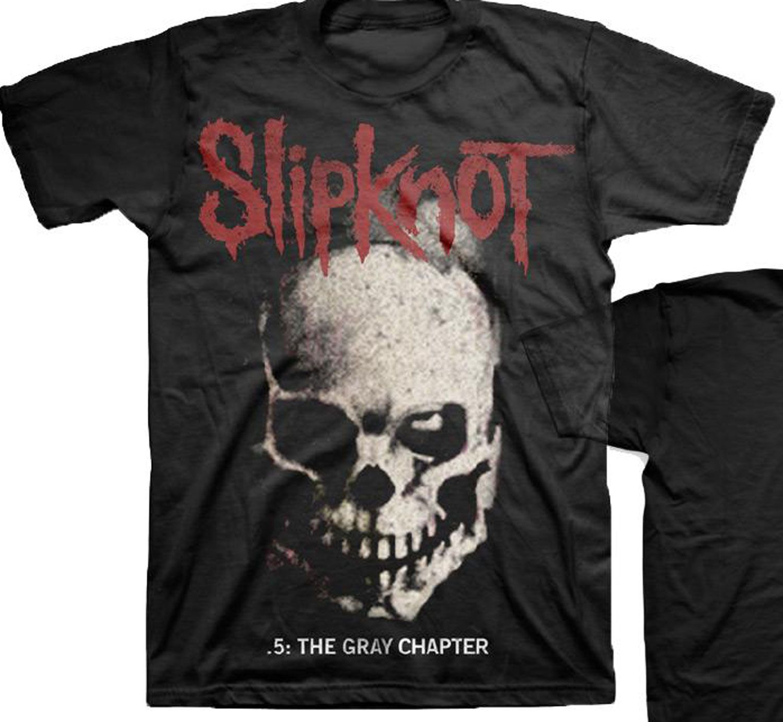Slipknot The Gray Chapter Skull T Shirt Free Shipping Best Price Tendencies Tshirt Stop Smoking Hitam Xxl Shirts