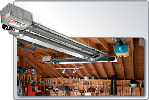Space Ray Radiant heaters, Patio, Home