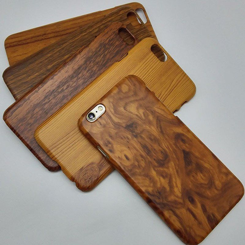 Hard case for apple iphone6 iphone 6s 6 s 4.7 wood grain ...