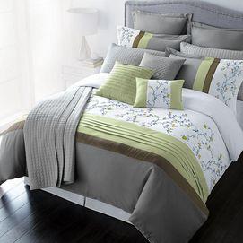 Sears Mattress Sets >> wholeHome®/MD 'Leila' 7-Piece Comforter Set - Sears ...