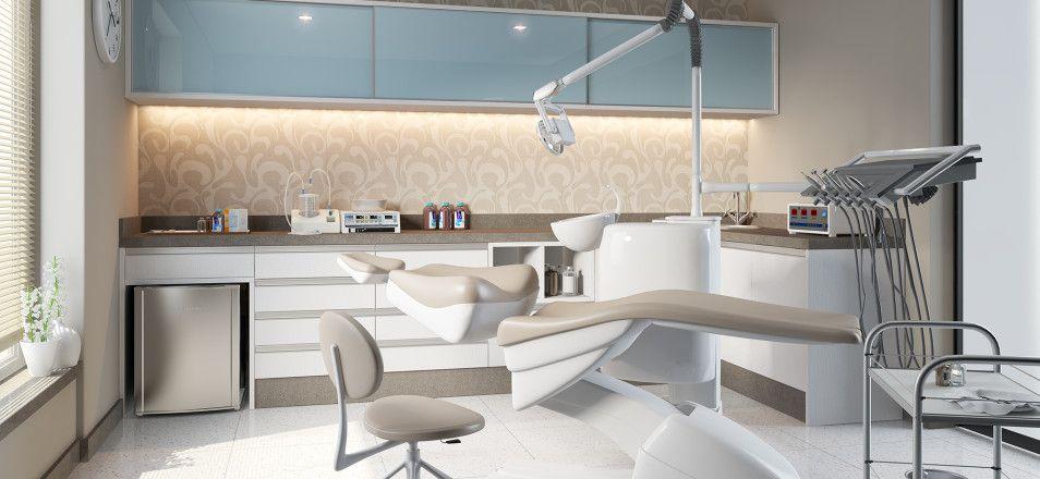 Artesanato Com Feltro Passo A Passo ~ Consultório Odontológico Dentistas Pinterest Consultório, Planejados e Móveis planejados