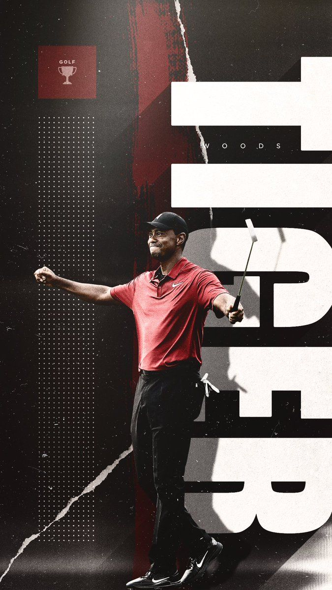 Meech Robinson on Sports graphic design, Tiger woods