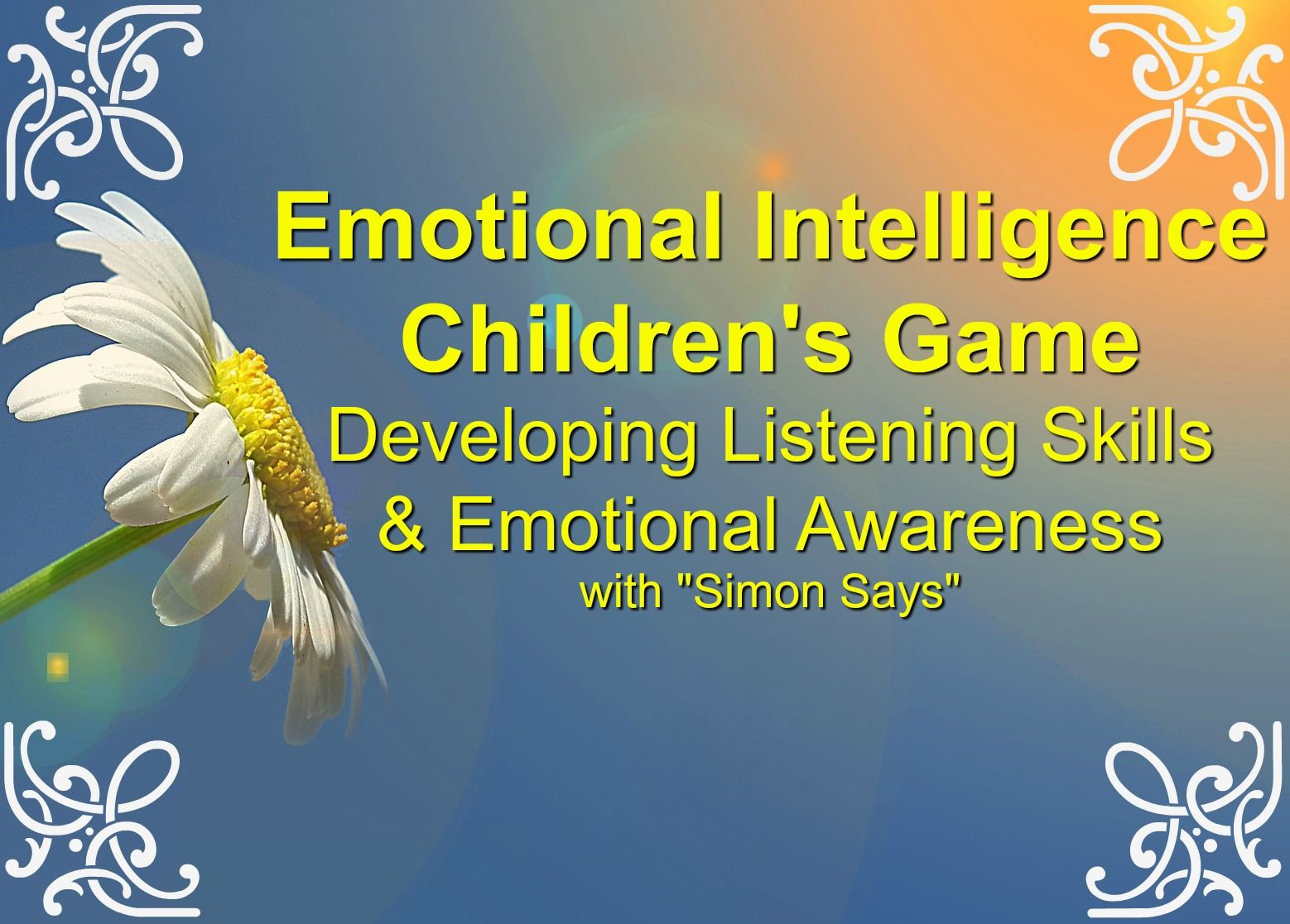 Emotional Intelligence Children S Game