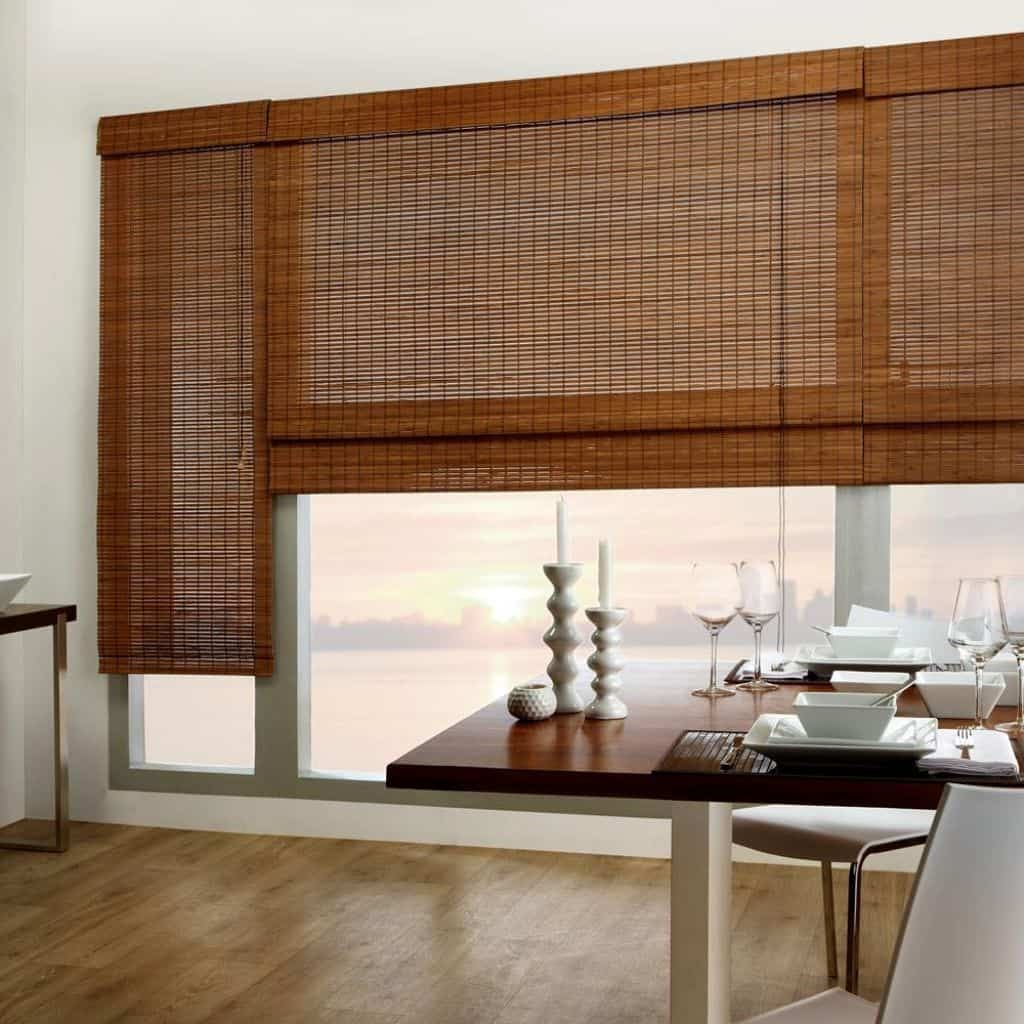 Ways To Roll Up Bamboo Blinds With Images Bamboo Window Shades