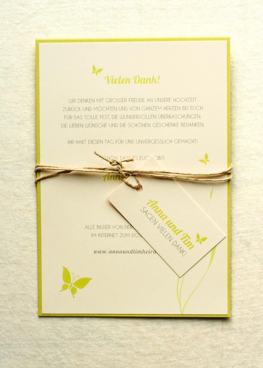 Natural Wedding Hochzeitskarten In Grun Creme Mit Rustikalem Touch