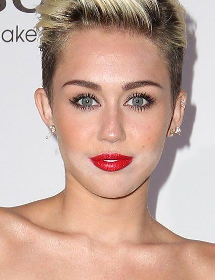 Bad Makeup At Conviction Premier: Bad Makeup Why I Do Concealer 1st Miley Cyrus At Maxim Hot