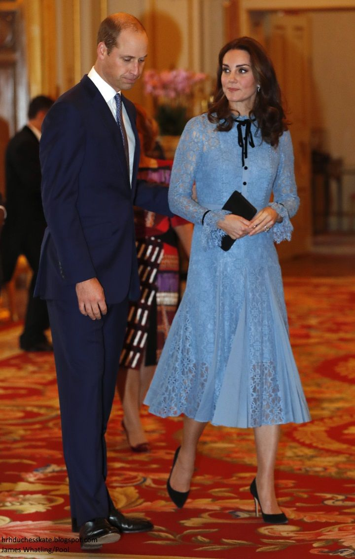 hrhduchesskate: World Mental Health Day Reception, Buckingham Palace ...