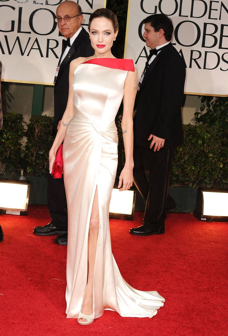 The 15 Best Red Carpet Dresses, Ever | Red carpet dresses, Angelina