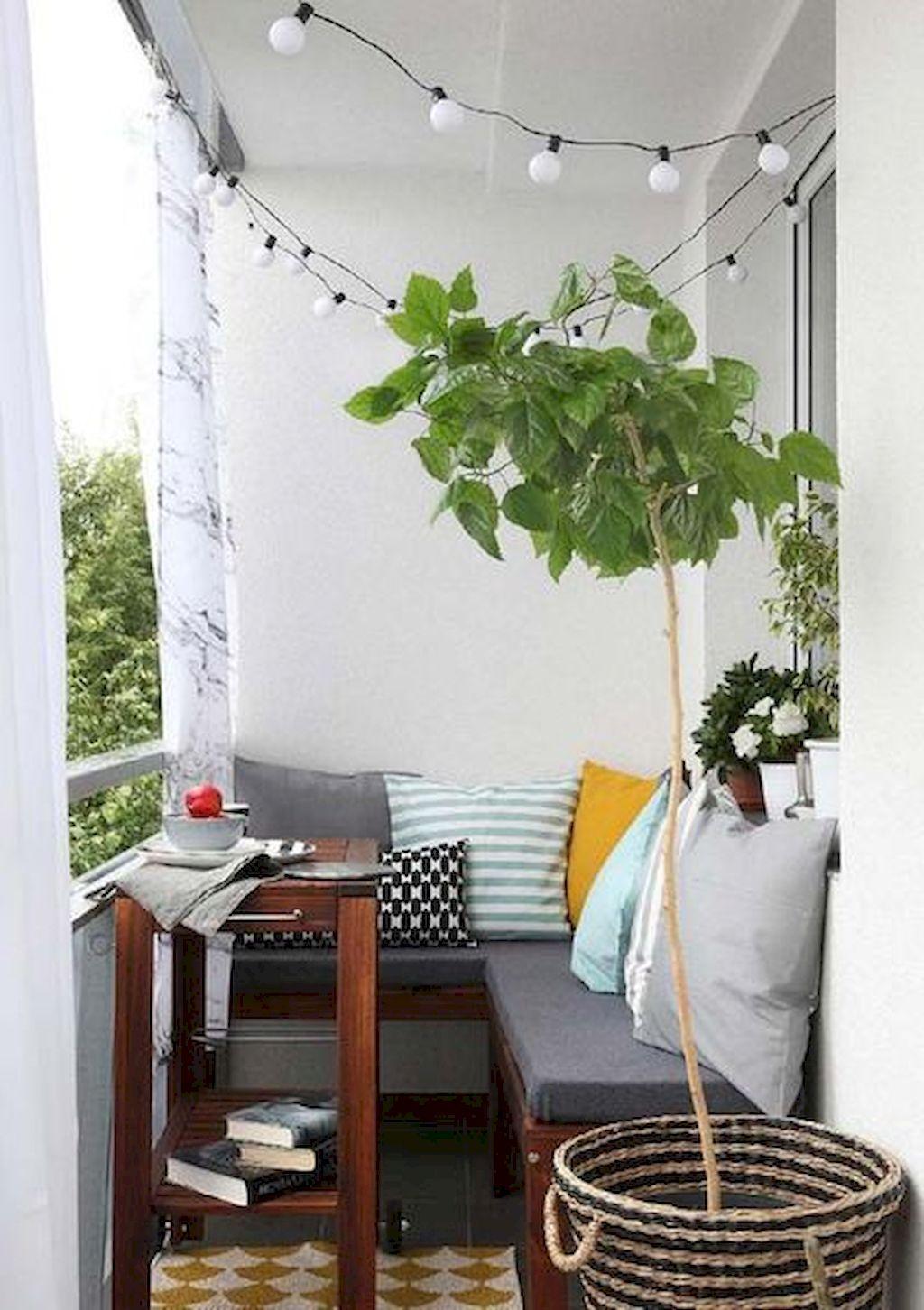 50 Small Apartment Balcony Decorating Ideas