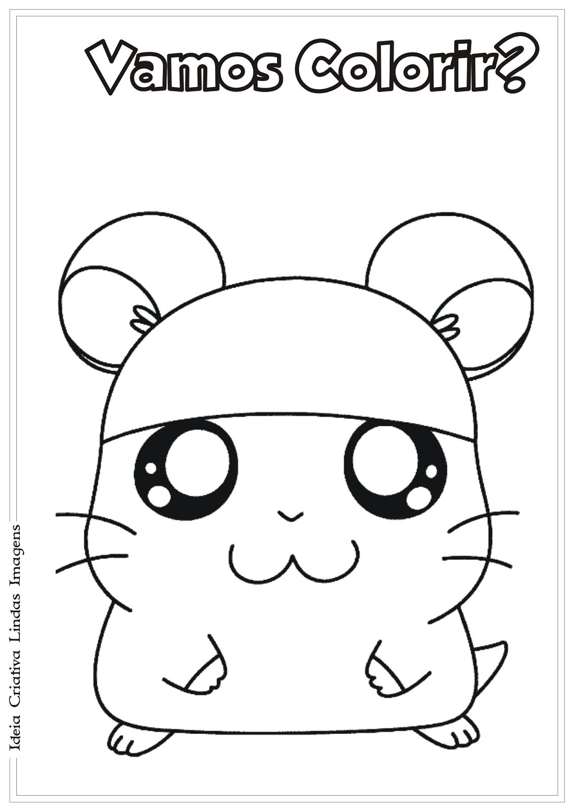 desenho-hamtaro-para-colorir-ideia-criativa-lindas-imagens3 | Anime ...