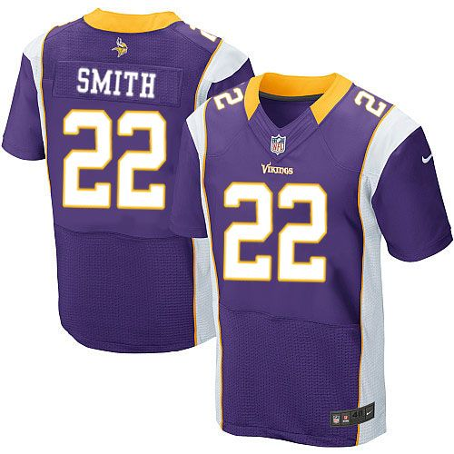 mens nike minnesota vikings 22 harrison smith elite purple team color nfl jersey sale