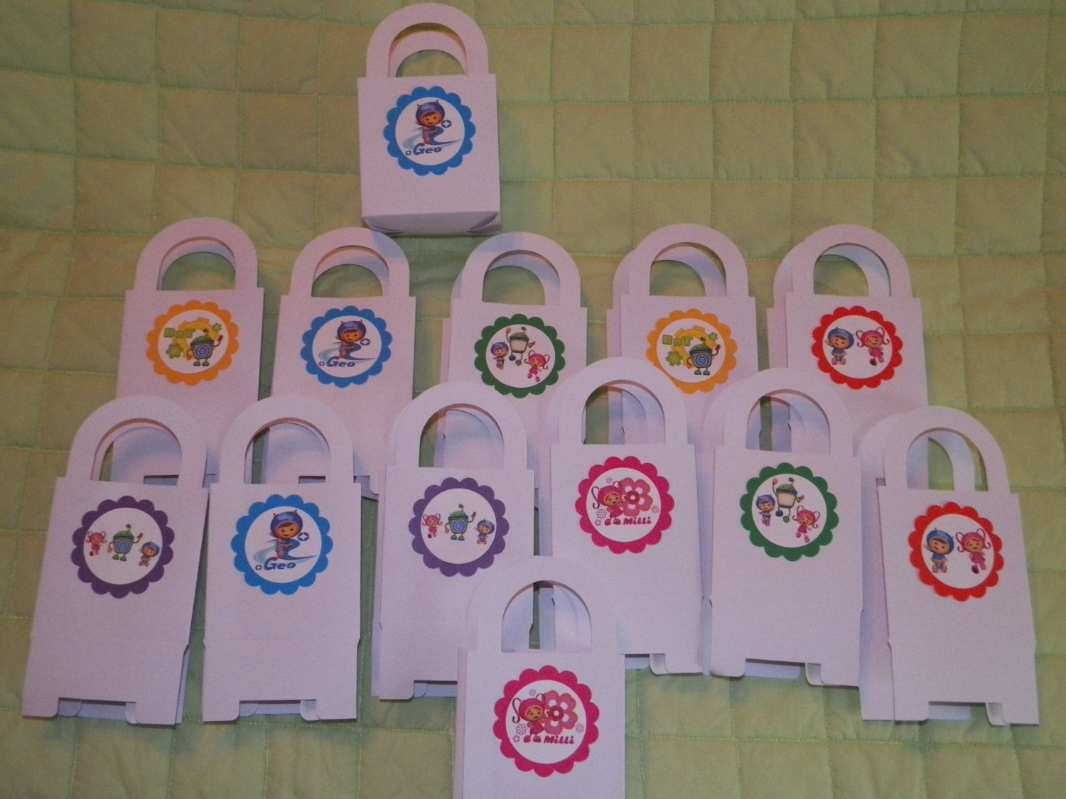 12 You Pick Theme Or Team Umizoomi Bags Favor By