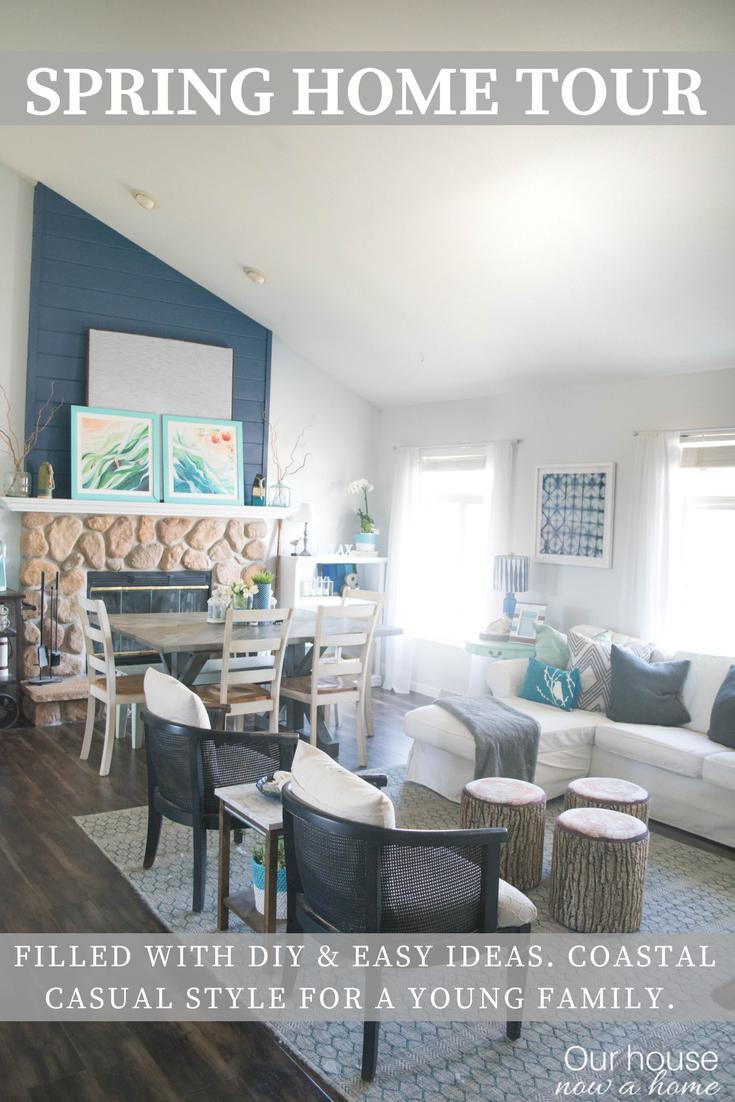Spring Home Tour 20 Popular Decor Bloggers Share Their DIY Craft