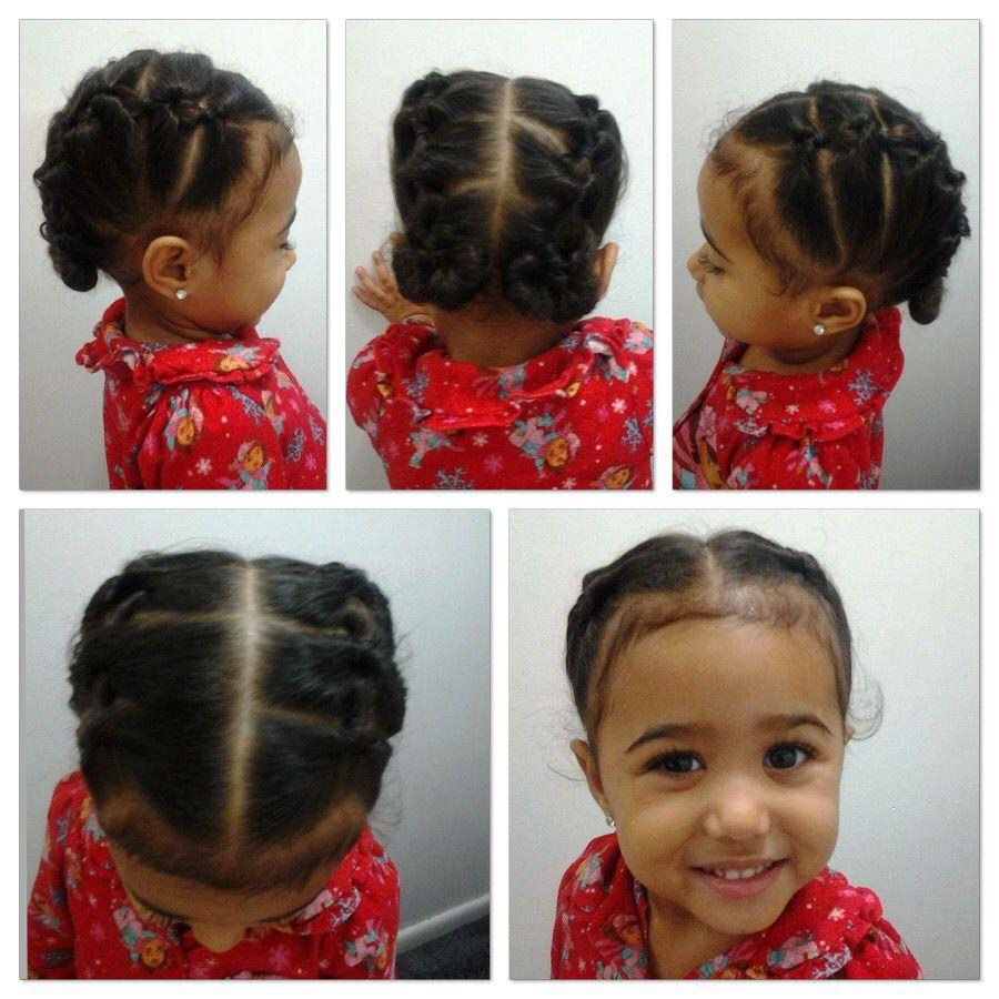 little girls hair style   so cute!!!!   biracial hair, mixed