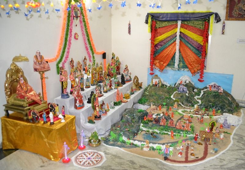 Delightful Golu Theme Ideas And Decoration Part - 4: Http://www.google.co.in/blank.html · Decorating IdeasCraftKidIndian ...