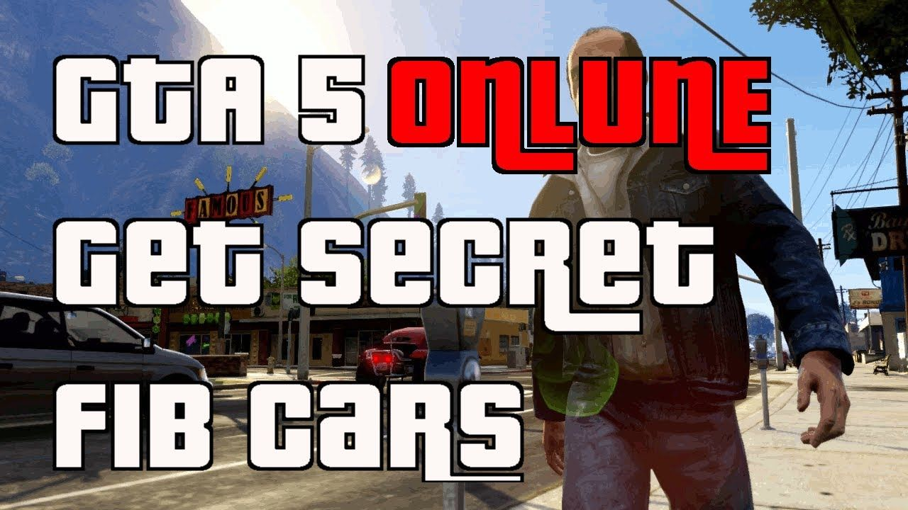 Gta 5 online secret fib cars location store in garage