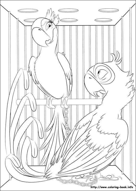 Rio Coloring Picture Mandala Coloring Pages Bird Coloring Pages Coloring Pages