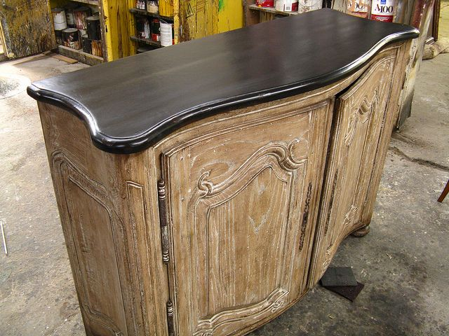 Antique Country French Console Houston Jared Meadors Furniture Refinishing Houston Furniture Furniture Custom Cabinets
