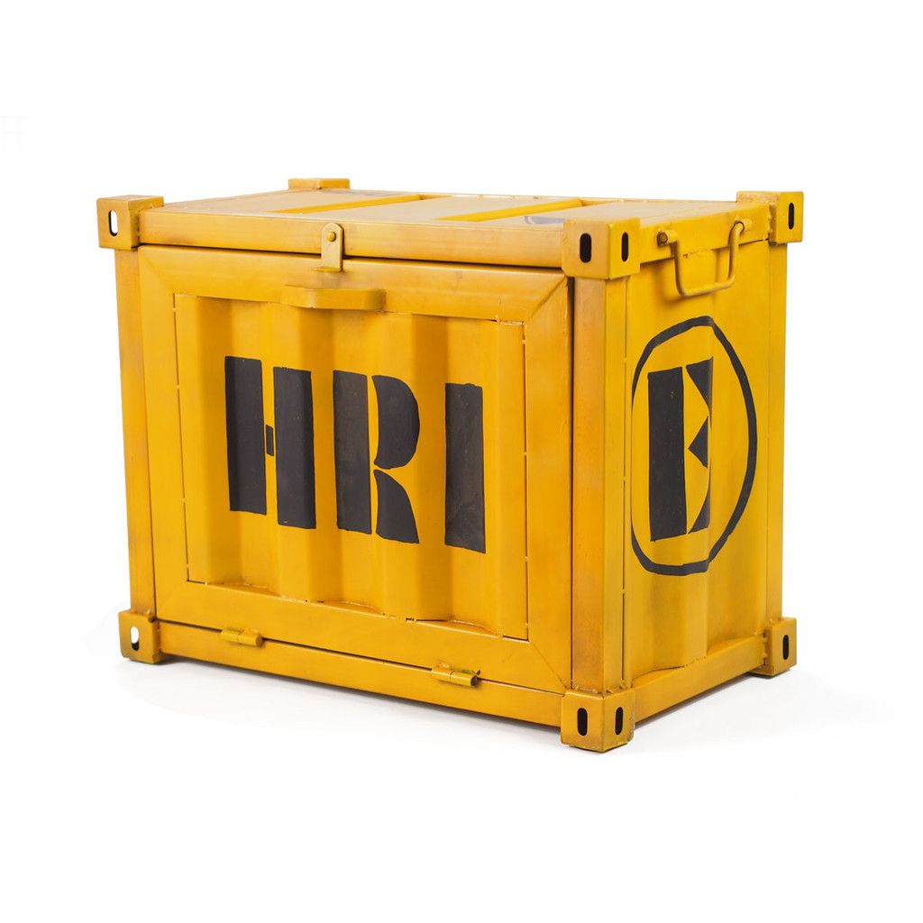 Shipping Container Trunk Crash Industrial Style Furniture  # Meuble Container