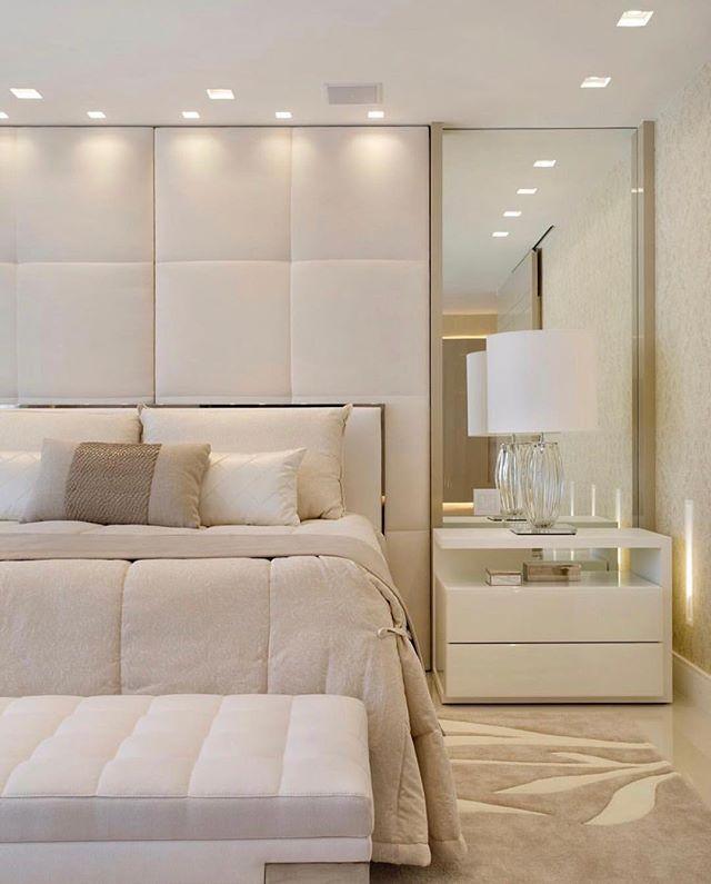 Chambre adulte blanche 80 idées pour votre aménagement Bedrooms - schlafzimmer mit amp uuml berbau neu