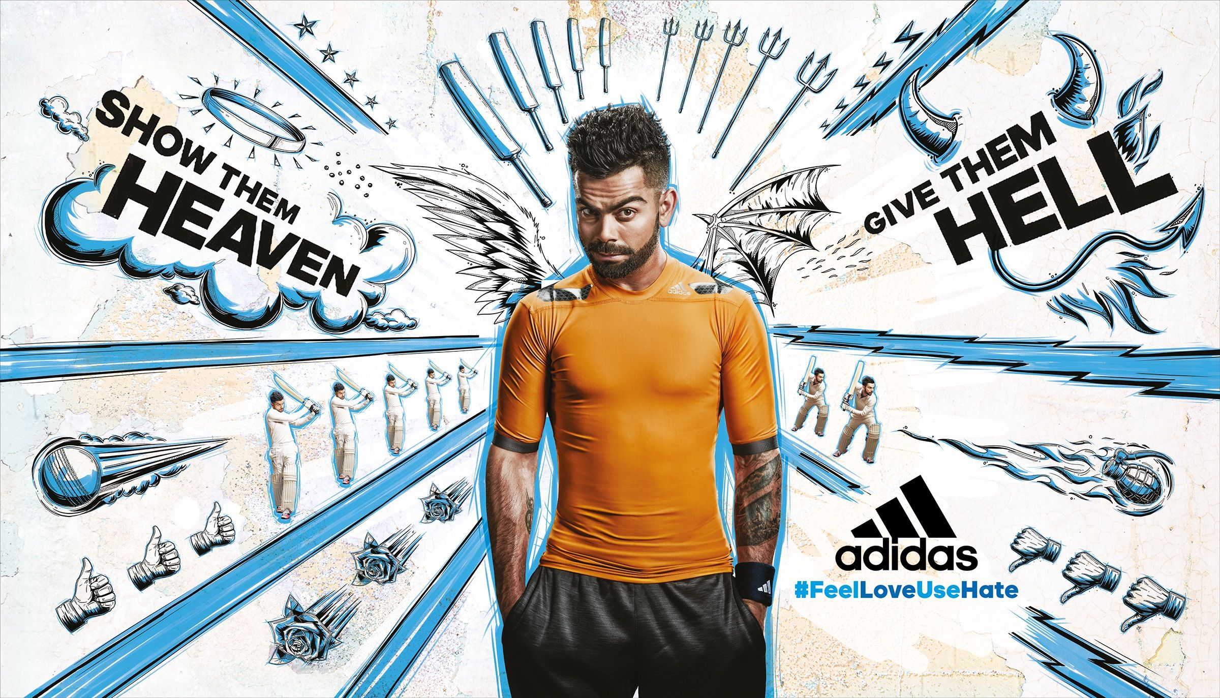 Adidas Blue In 2020 Adidas Ad Adidas Advertising Advertising Campaign