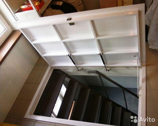 Идеальное решение, если нужно оставить в ход в подвал/погреб или иное помещение незаметным. Люки оборудованы газлифтами, обши...