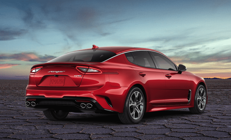 2020 Kia Stinger Gt Line Is A Sporty Model That Looks Basic Beautiful And Comfortable Kia Stinger Kia Model