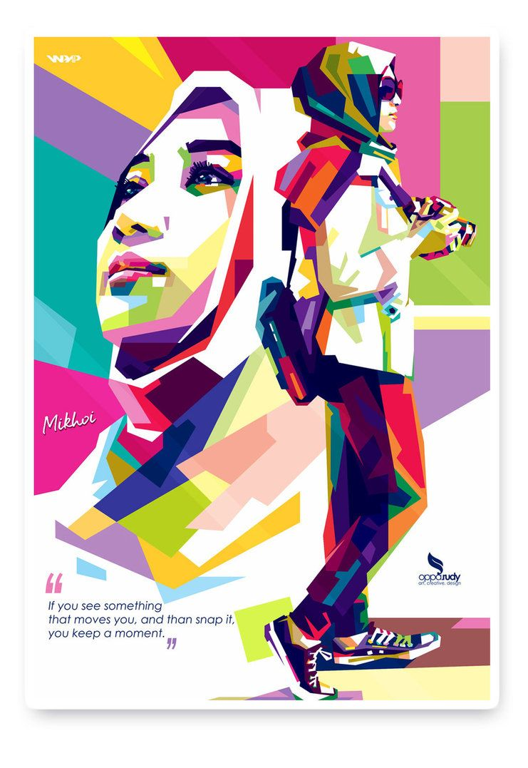 Anomaly Wpap Of Woman Photographer By Opparudy Wpap Pop Art In