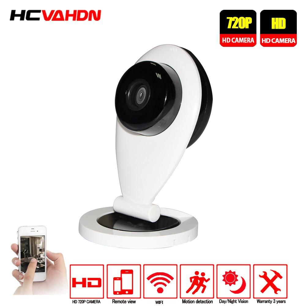 Small Surveillance Camera Wireless Security WiFi Home Smart Webcam Audio Video