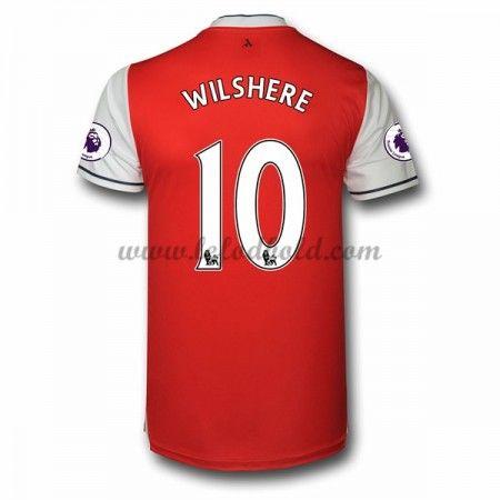 Billige Fodboldtrøjer Arsenal 2016-17 Wilshere 10 Kortærmet Hjemmebanetrøje