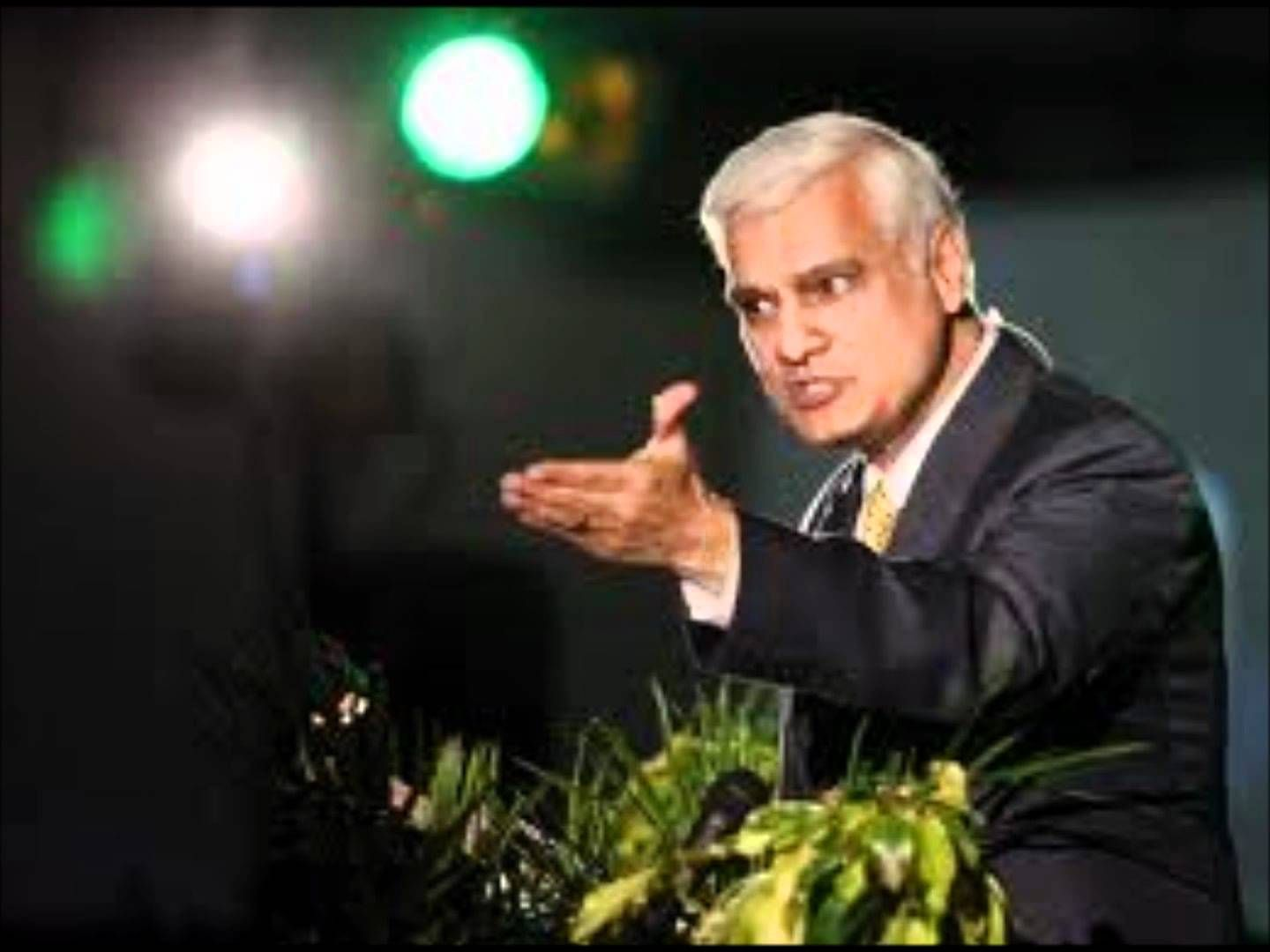 Ravi Zacharias Answers Atheists.. A Good Quote From This