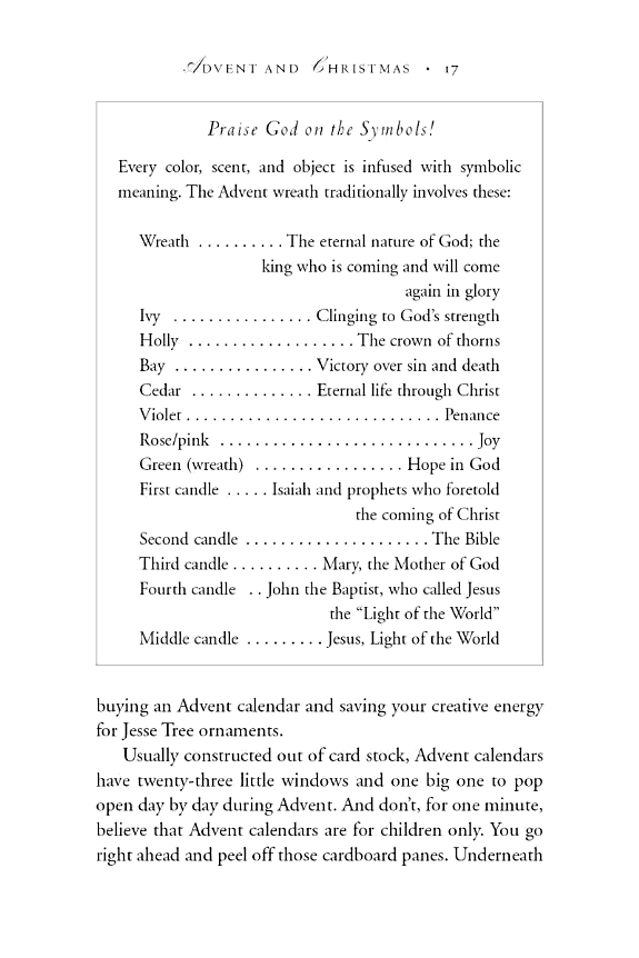 The Symbols And Meanings Of The Advent Wreath Greenery And Candles