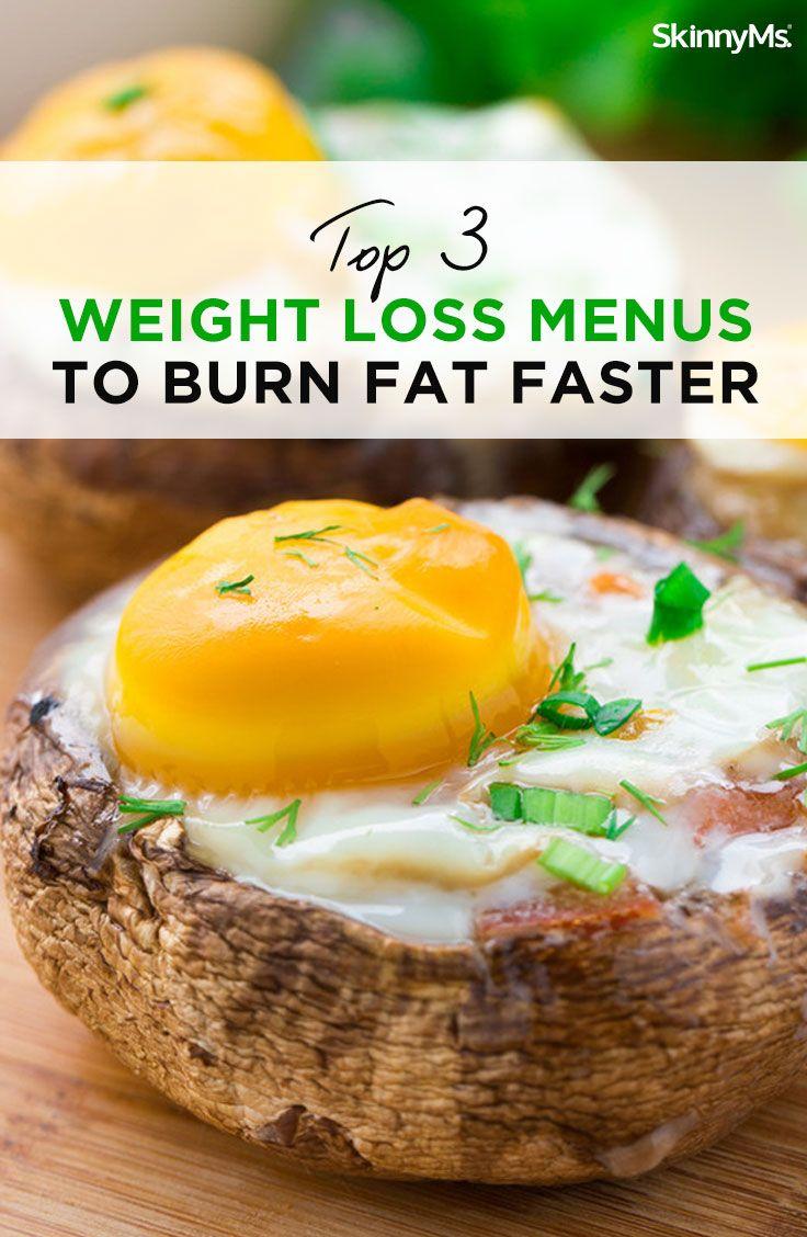 Top 3 Weight Loss Menus to Burn Fat Faster
