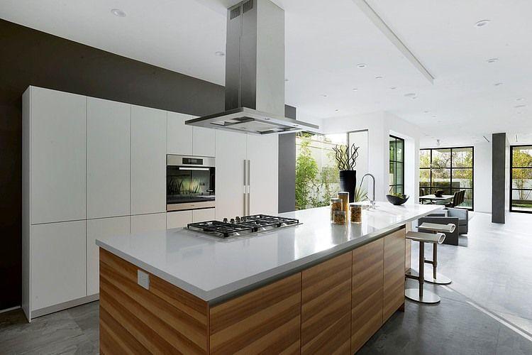 Kchen Modern Mit Kochinsel 2 Mansfield Modern Residence Style By Adeet  Madan Kitchens