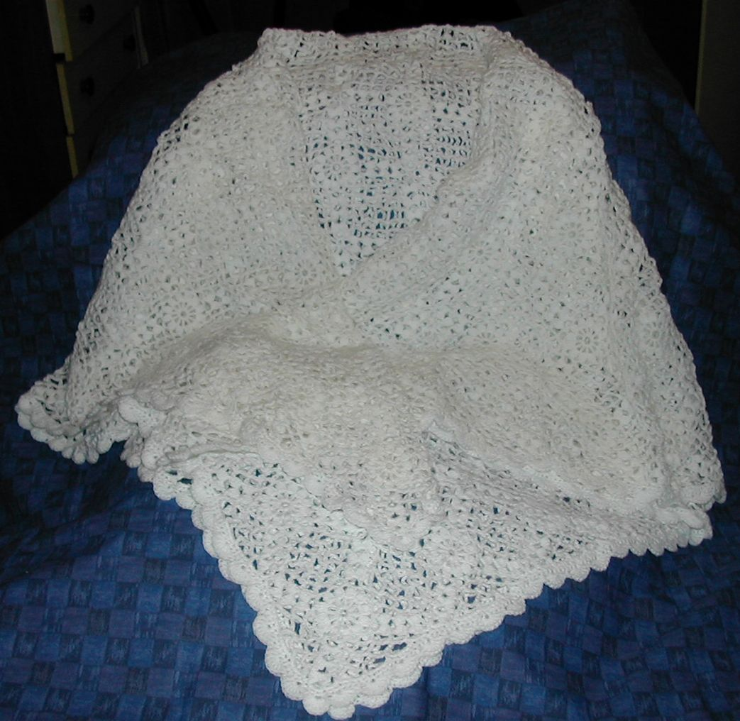 free irish lace crochet scarf patterns | IRISH SHAWL CROCHET PATTERN ...