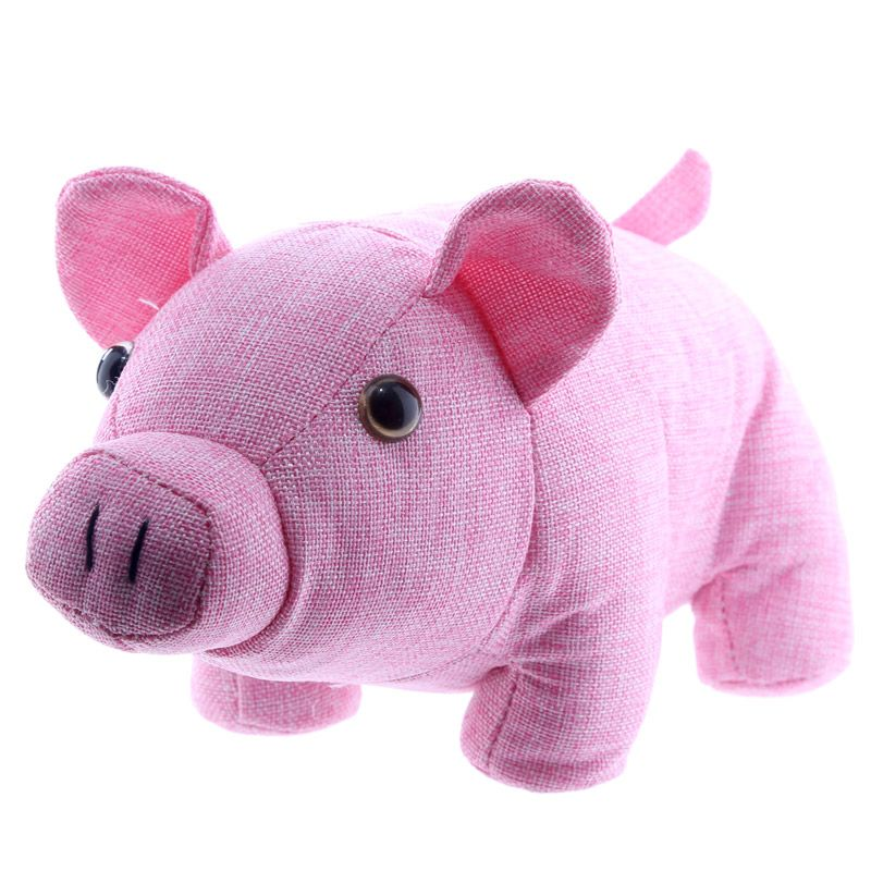 Cute Pink Pig Design Door Stop Add Colour Design And Practicality