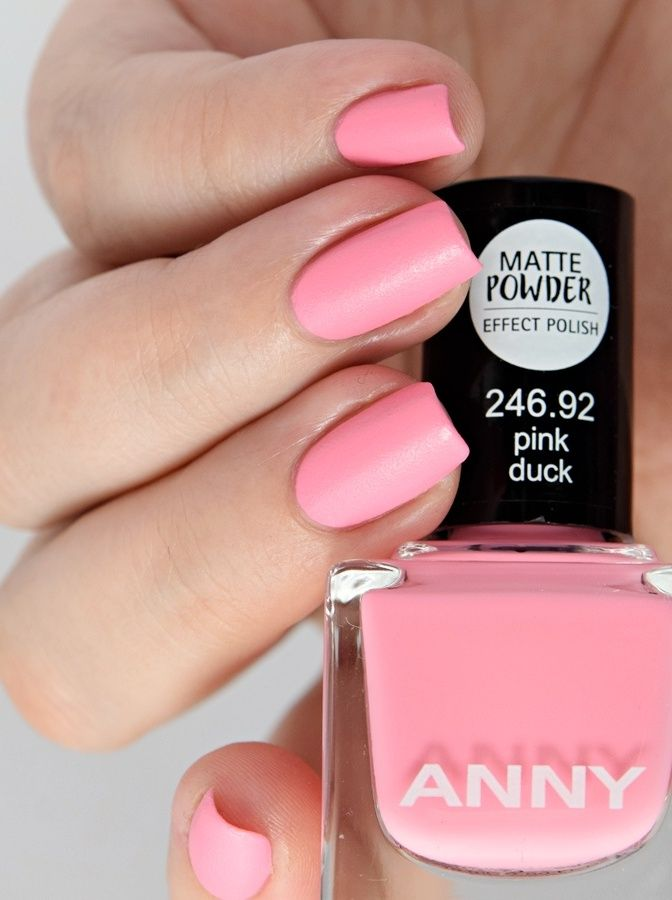 ANNY Miami Nice - It Girl on Flamingo Road pink duck matte powder ...
