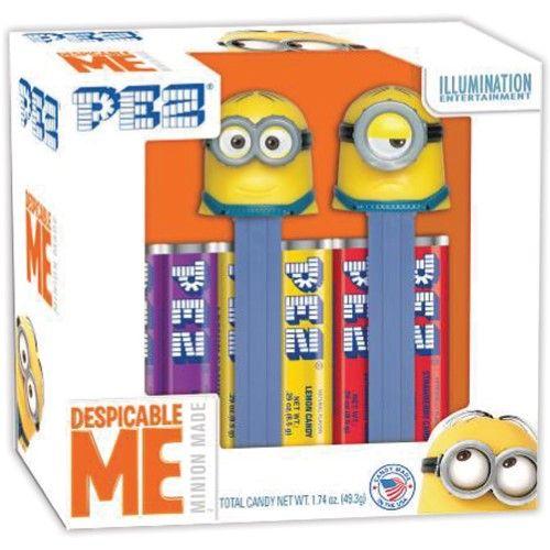 Despicable Me Minions Pez Set/2 Collectible Candy Dispensers Dave Stuart