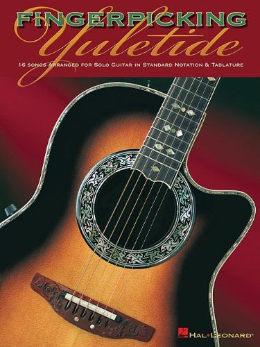 Fingerpicking Yuletide: 16 Songs Arranged for Solo Guitar in Standard Notation & Tab by Hal Leonard Corp. http://www.amazon.com/dp/0634081985/ref=cm_sw_r_pi_dp_EAAmub1EFPCBD