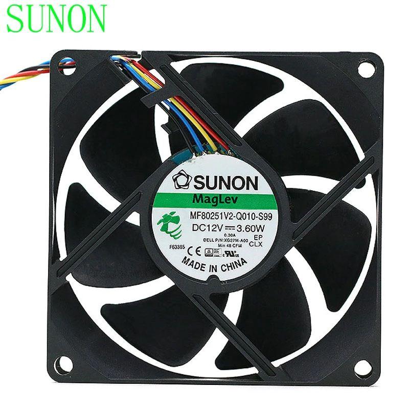 new computer fan 120mm 12cm DF1202512SEMI 12025 12V computer case gt1850 gt2150 power fan 12cm matte super mute cooling fan