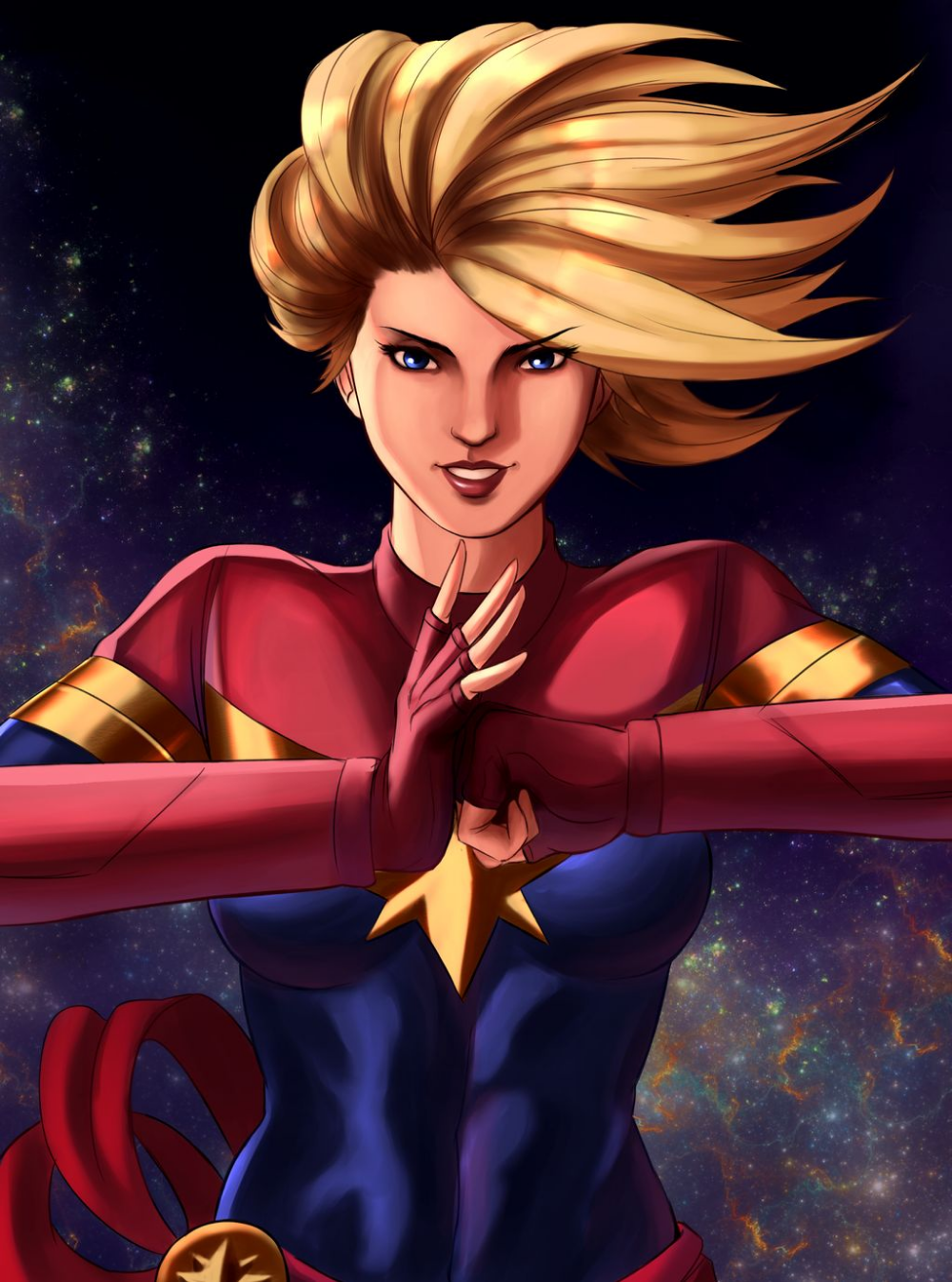 Carol Danvers A K A Captain Marvel By Mistery12 On Deviantart Captain Marvel Captain Marvel Carol Danvers Marvel