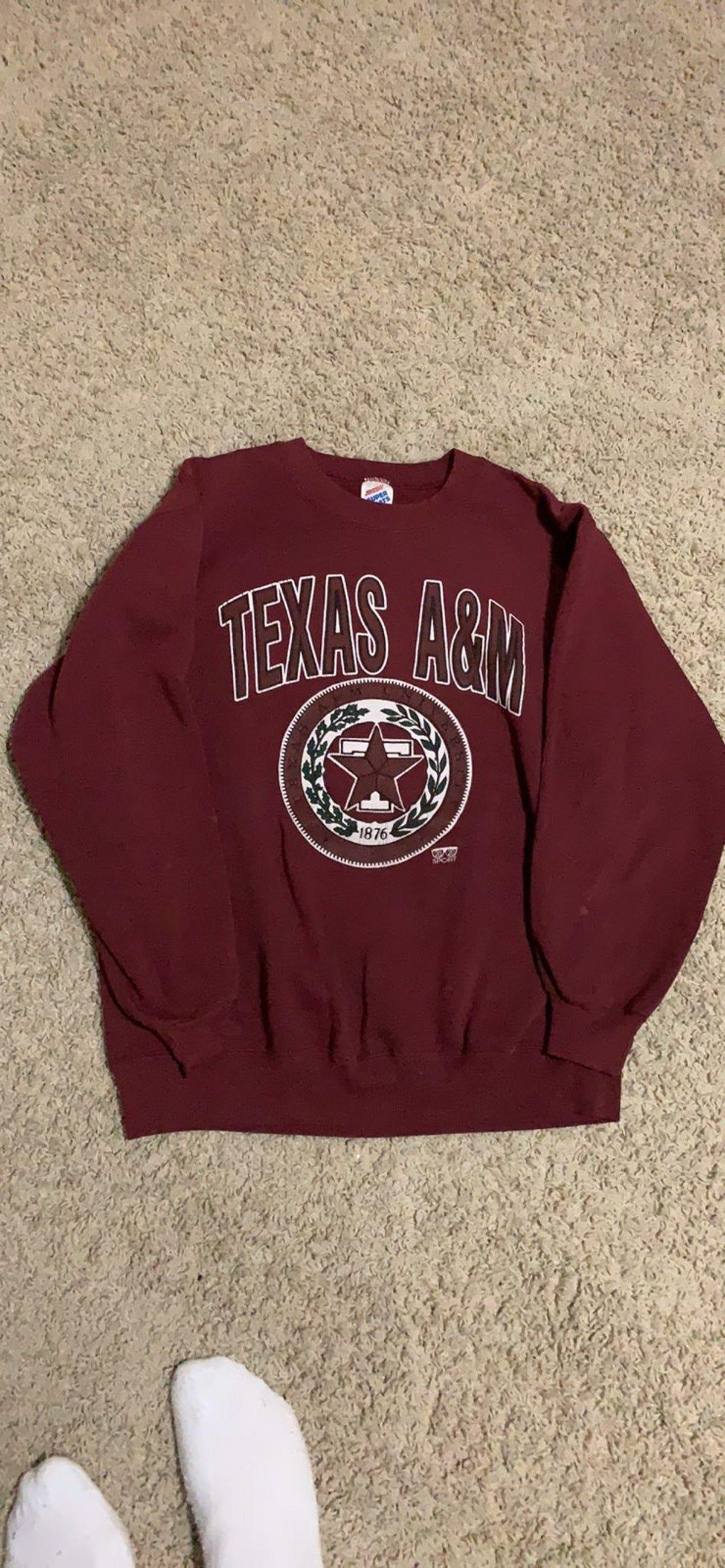 Vintage 90s Texas A M Aggies Sweatshirt Sweatshirts Vintage Sweatshirt Sweatshirts Hoodie [ 2595 x 1200 Pixel ]