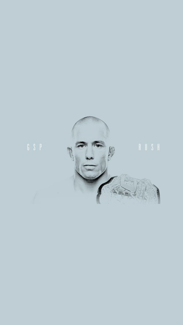 Georges St. Pierre iPhone 5 Wallpaper
