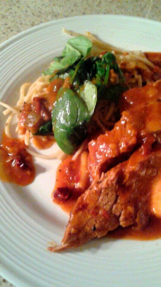 Filet de porc aux tomates s ch es au soleil recettesduqc cuisiner le porc pinterest - Cuisiner les tomates sechees ...