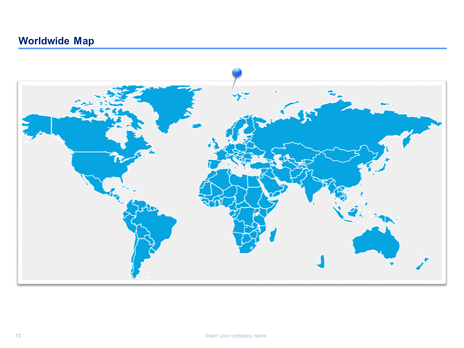 World Map Templates | Editable World Maps for Powerpoint ... on