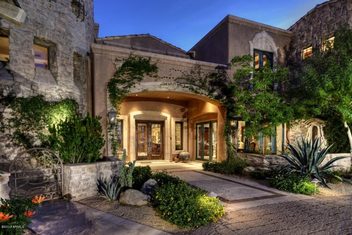 Luxury Arizona Property Entry Scottsdale ForSale www