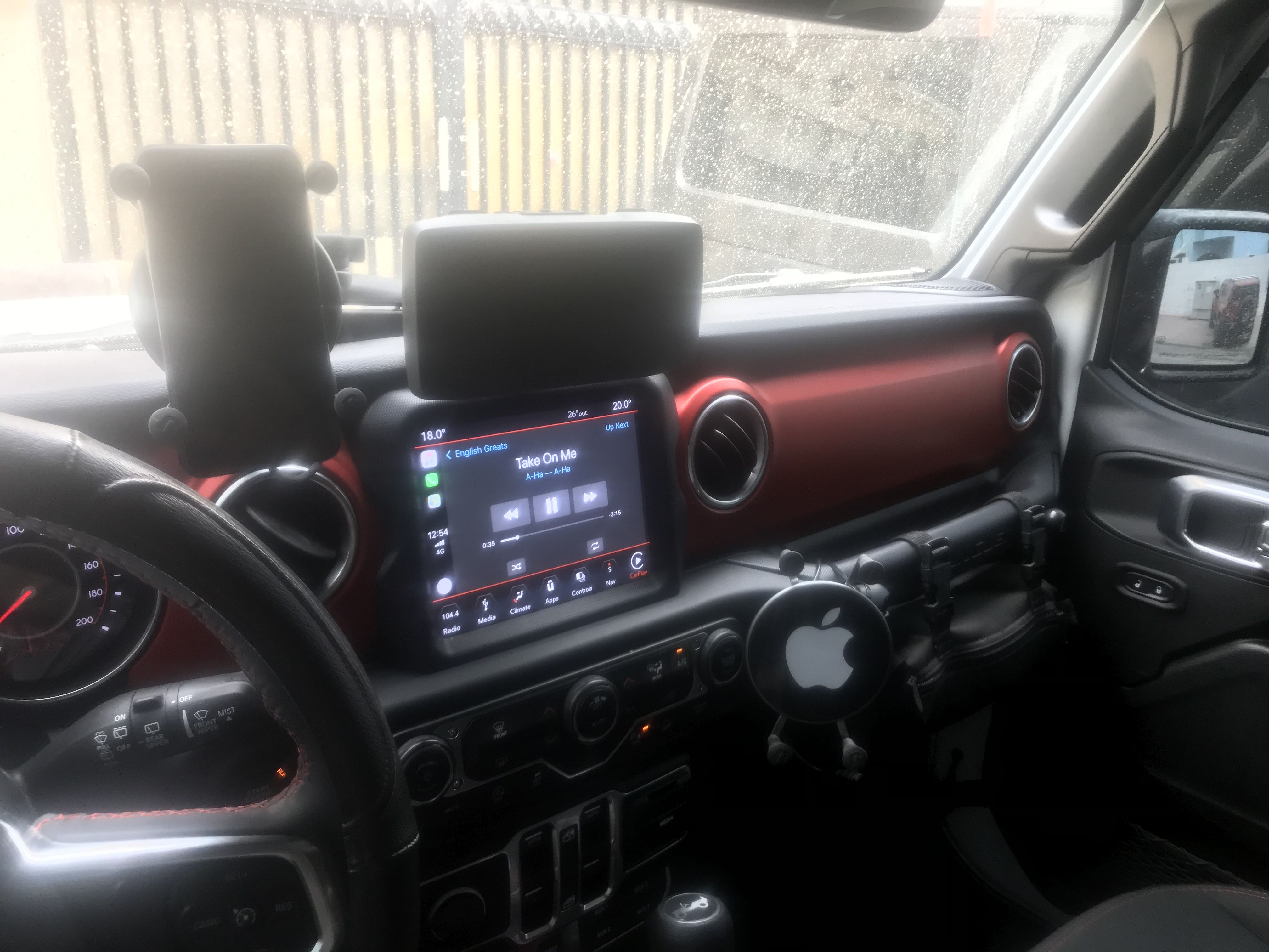 Jeep Jl Iphone Wireless Charger And Gps Wireless Charger Iphone