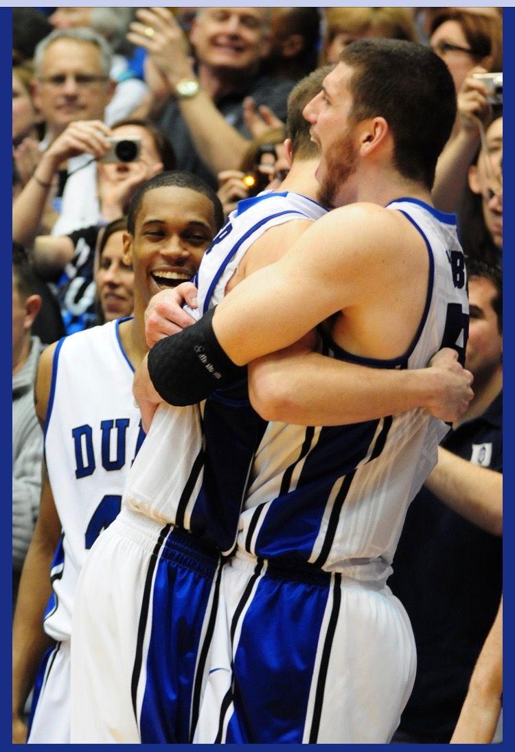 Jon Scheyer and Brian Zoubek Duke basketball, Duke blue